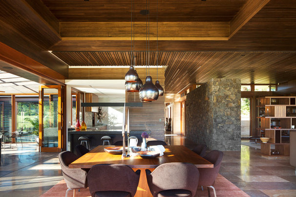 Asian Dining Room by Suzanne Hunt Architect