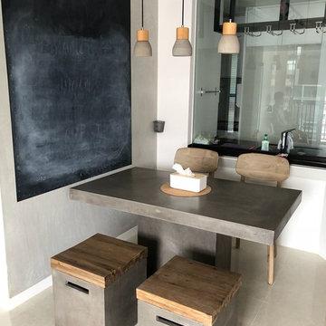 Bedok Resevoir Road - Lista Concrete Table