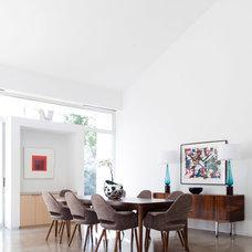 Contemporary Dining Room by Ashley Eckel Interior Design