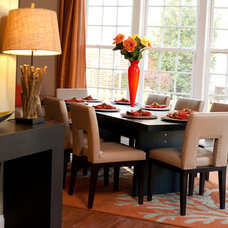 Contemporary Dining Room by Pierre Jean-Baptiste Interiors