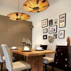 Asian Dining Room by S.I.D.Ltd.