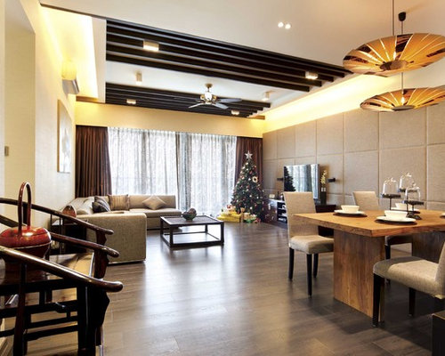 Asian dining room design ideas remodels photos for Dining room hong kong