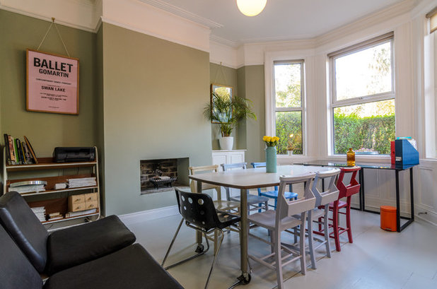 Eclectic Dining Room by Gary Quigg Photography