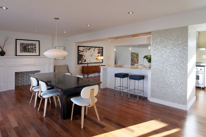 Contemporary Dining Room by Shelterbelt Architecture