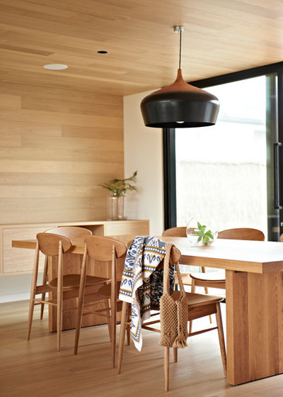 Contemporary Dining Room by Bower Architecture