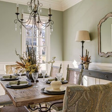 Farmhouse Dining Room by Pro Media Tours