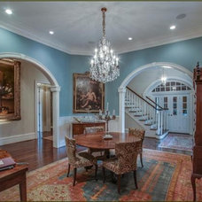 Traditional Dining Room by Mitchell Barnett Architect, PC