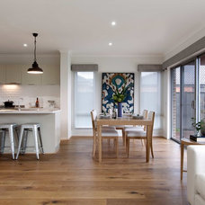 Contemporary Dining Room by Orbit Homes