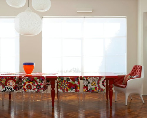 'Trendy dining room photo in Sydney with white walls' from the web at 'https://st.hzcdn.com/fimgs/1de170df00a8d1f3_6695-w500-h400-b0-p0--.jpg'