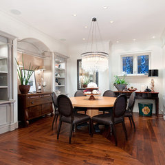 eclectic dining room Bellevue House