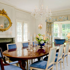 Traditional Dining Room by Vincent Greene Architects