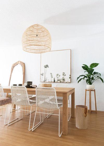 Coastal Dining Room by The Design Villa