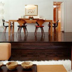 contemporary dining room by Specht Harpman
