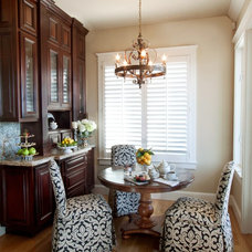 Traditional Dining Room by Bellissimo Decor