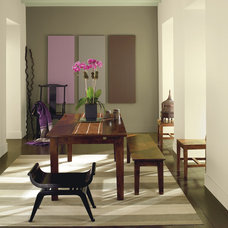 Contemporary Dining Room by Benjamin Moore