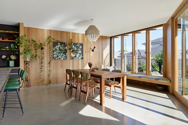 Scandinavian Dining Room by BENT Architecture