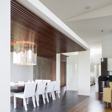 Modern Dining Room by Hufft Projects