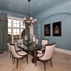 Traditional Dining Room by Bentley Premier Builders
