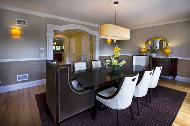 Contemporary Dining Room Bergen County Residents