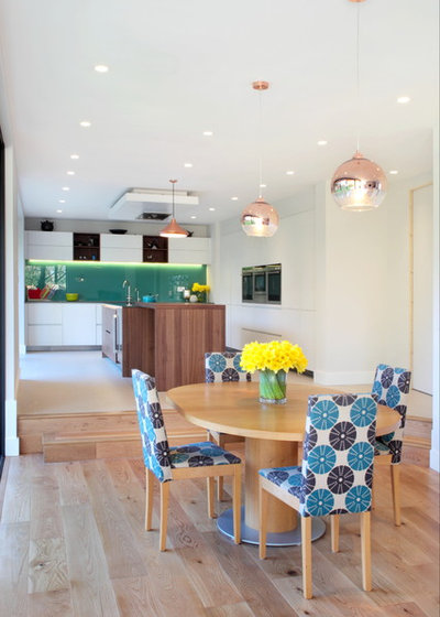 Contemporary Dining Room by Design A Space Kitchens, Bedrooms & Interiors
