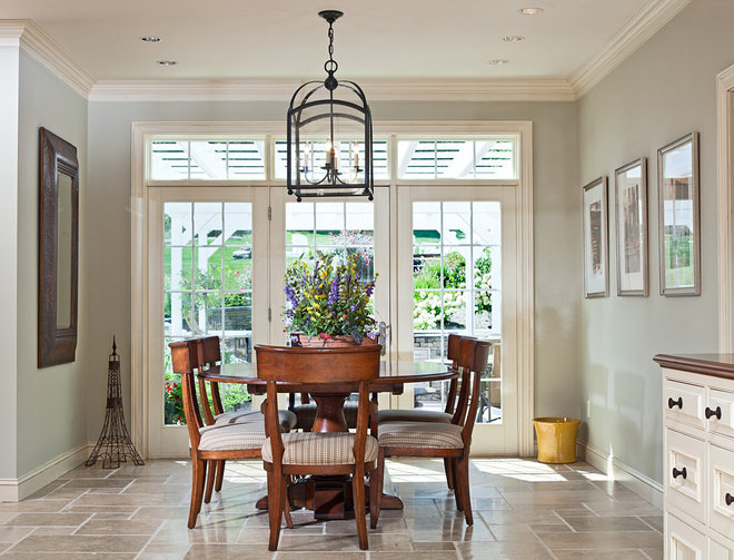 Traditional Dining Room by Mary Courville Designs