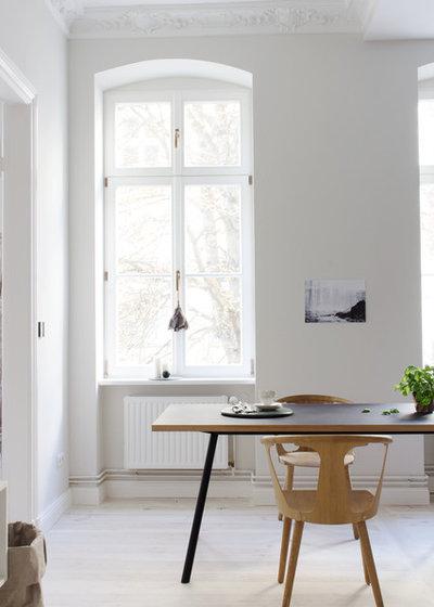 bitte abstand halten: die richtigen maße für tisch, wand und stuhl - Esstisch Und Stuhle Esszimmer