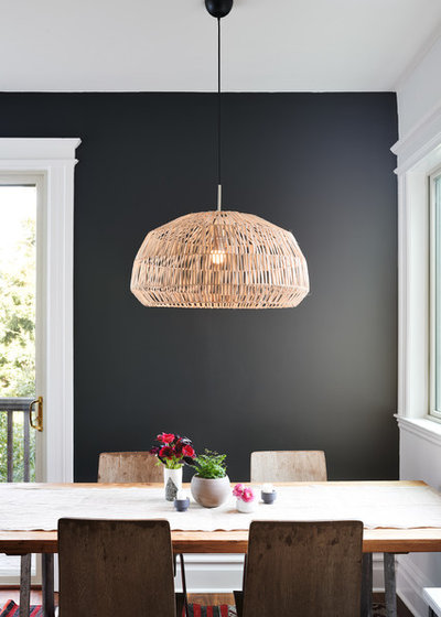 Contemporary Dining Room by Denise Maloney Interior Design