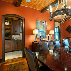 Traditional Dining Room by WPL Interior Design