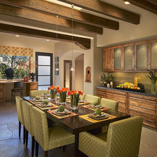 Contemporary Dining Room by AB Design Elements, LLC