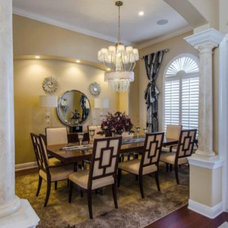 Traditional Dining Room by Housetrends Magazine
