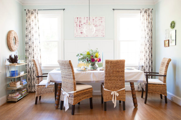 Eclectic Dining Room by designPOST interiors