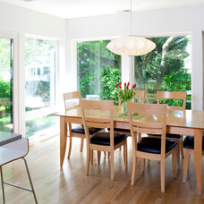 Contemporary Dining Room by Rill Architects