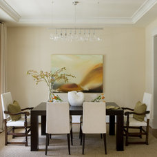 Contemporary Dining Room by Liz Levin Interiors