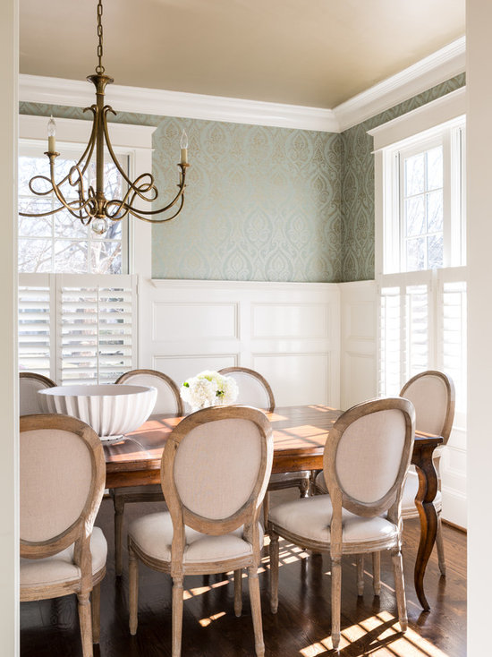 wainscoting dining room | houzz