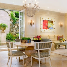 Eclectic Dining Room by Mary Douglas Drysdale