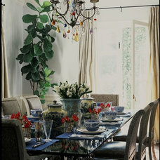 Dining Room by Burnham Design