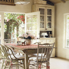 Eclectic Dining Room by Sandy Koepke