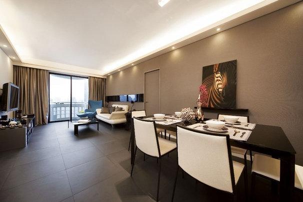 Modern Dining Room by S.I.D.Ltd.