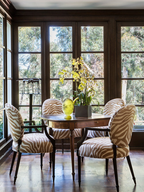 Best Zebra Print Dining Room Design Ideas & Remodel Pictures | Houzz