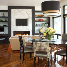 Contemporary Dining Room by Wm Ohs Showrooms