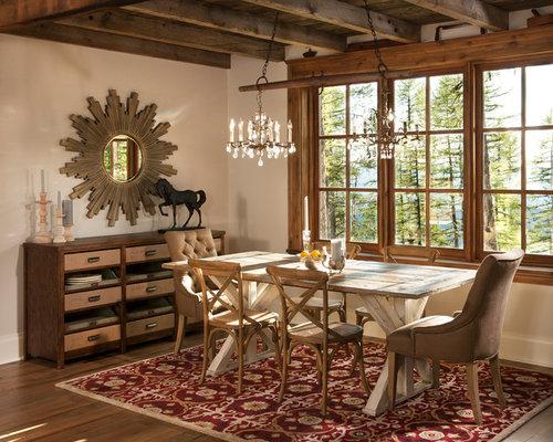 Rustic Dining Room Design Ideas, Remodels & Photos