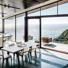 Contemporary Dining Room by Fougeron Architecture FAIA