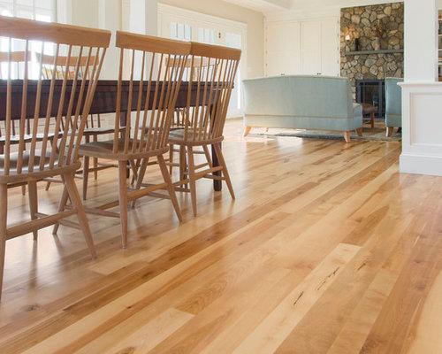 Birch Wide Plank Wood Floors - Cape Cod