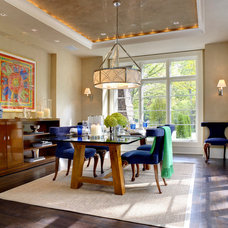 Contemporary Dining Room by Dominick Tringali Architects