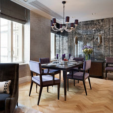 Contemporary Dining Room by Black & Key UK