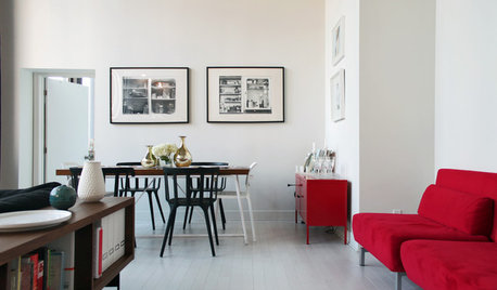 My Houzz: Graphic Lines and Crisp Colour in a Canadian Apartment