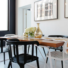 Contemporary Dining Room by Laura Garner
