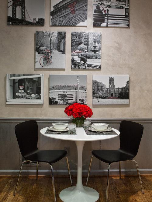 Black White Red Kitchen Houzz