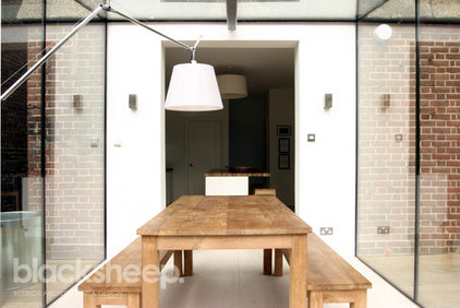 Contemporary Dining Room by Blacksheep