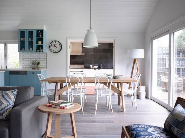 Contemporary Dining Room by Austin Design Associates